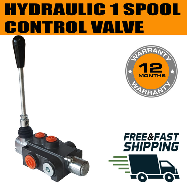 SINGLE SPOOL HYDRAULIC DIRECTION CONTROL VALVE