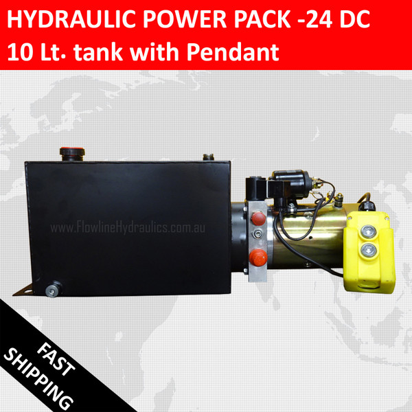Hydraulic Power pack -24V DC -10lt Tank