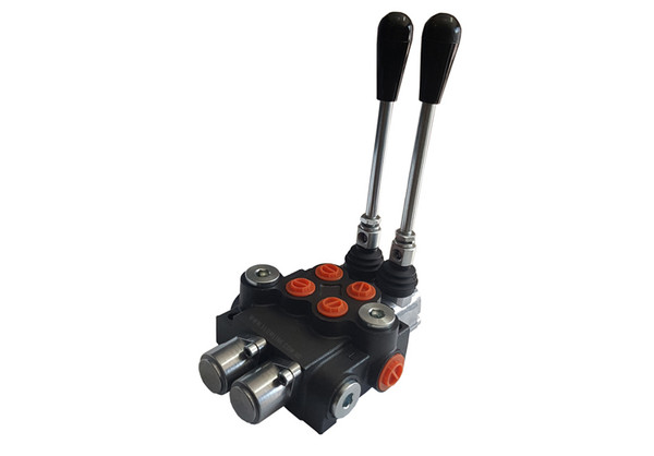 Two Spool Hydraulic Direction Control Valve