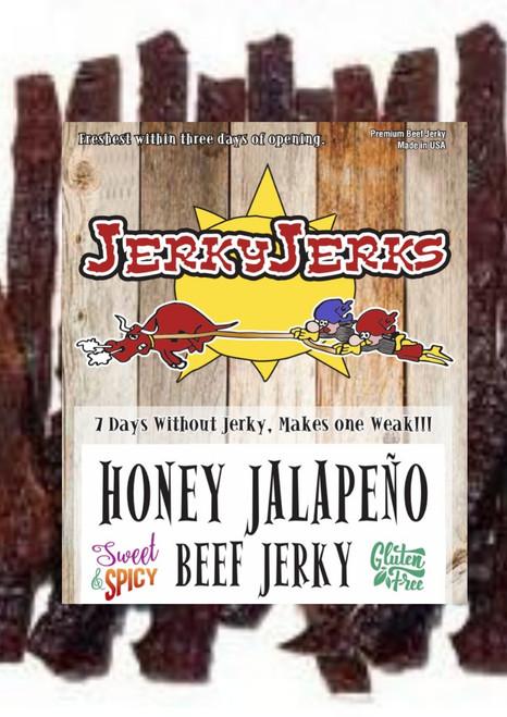 Jalapeno Honey Jerky Jerks