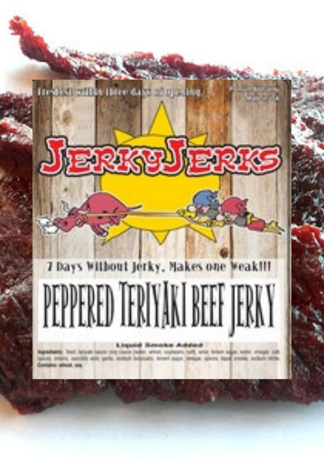 Teriyaki Black Pepper Jerky Jerks