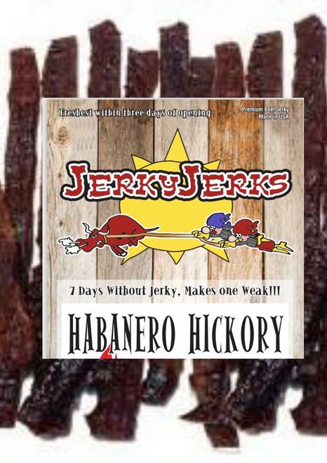 Hickory Habanero Jerky Jerks 8oz