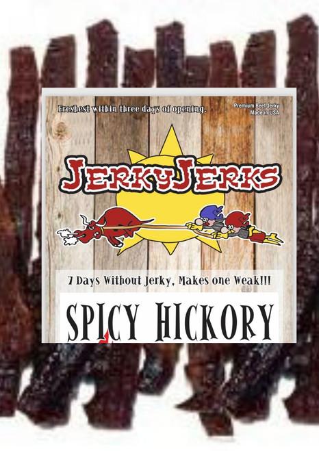 Spicy Hickory Jerky Jerks 8oz