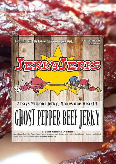 Ghost Pepper Sweet and Tender Jerky Jerks