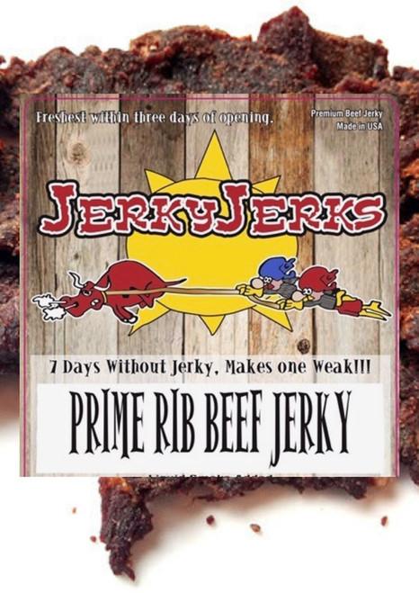 Prime Rib Jerky Jerks Jerky