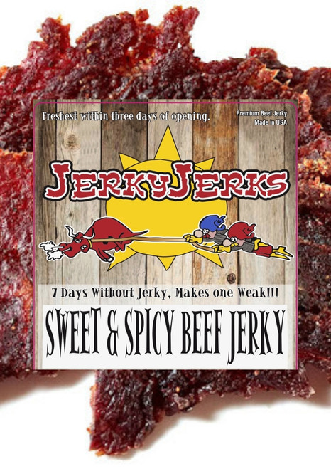 Sweet & Spicy Thin & Tender Jerky Jerks Jerky