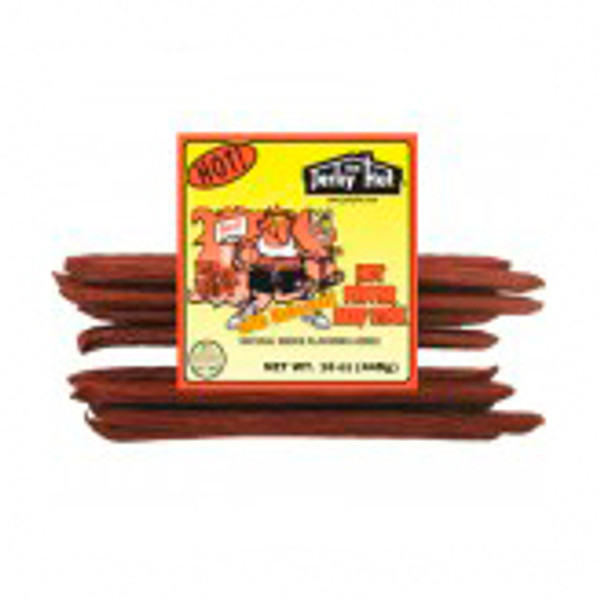 Air Randy beef stick is a killer hot smoked beef stick.  We added habanero pepper for a big bite.