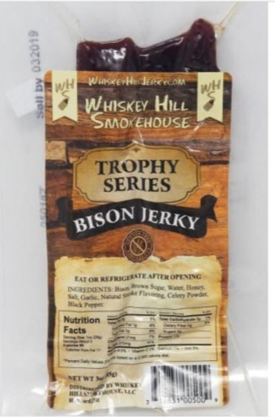 Bison Buffalo Jerky