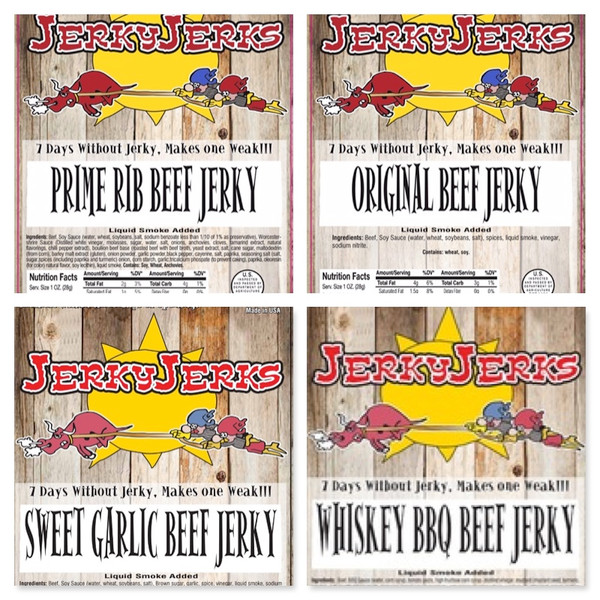 Sweet And Savory Jerky Variety Pack