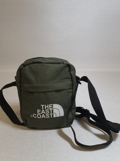 KINGPIN THE EASTCOAST FLIGHT BAG ARMY / WHITE
