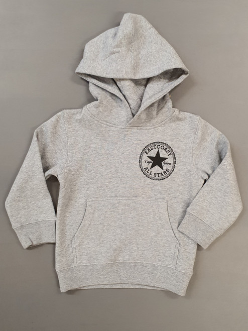 KINGPIN KIDS EASTCOAST ALL STARS HOOD GREY / BLACK