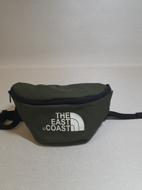 KINGPIN THE EASTCOAST WAIST BAG ARMY / WHITE