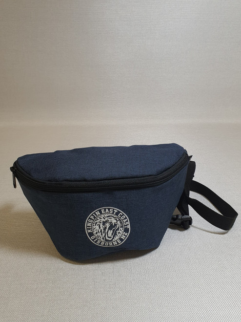 KINGPIN IRON LION WAIST BAG BLUE / WHITE