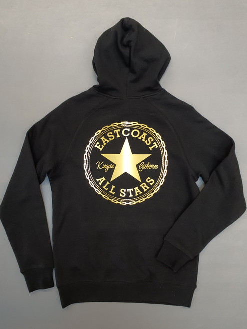 KINGPIN EASTCOAST ALL STARS HOOD BLACK / WHITE / GOLD