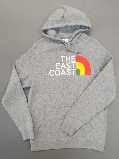 KINGPIN THE EAST COAST HOOD GREY / RASTA