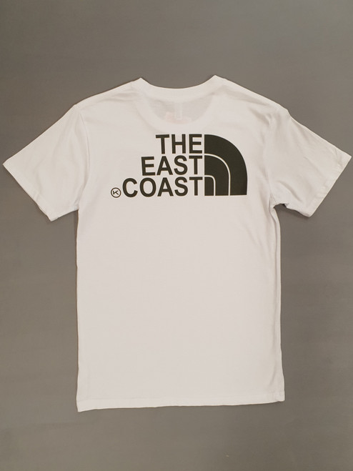 KINGPIN THE EAST COAST TEE WHITE / ARMY