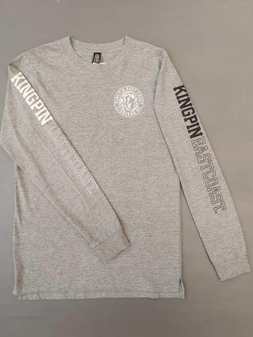 KINGPIN KPEC L/S GREY / WHITE / BLACK