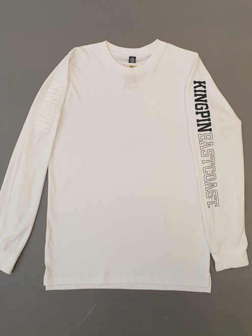 KINGPIN KPEC L/S WHITE / WHITE / BLACK