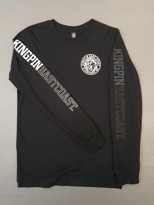 KINGPIN KPEC L/S BLACK / WHITE / BLACK