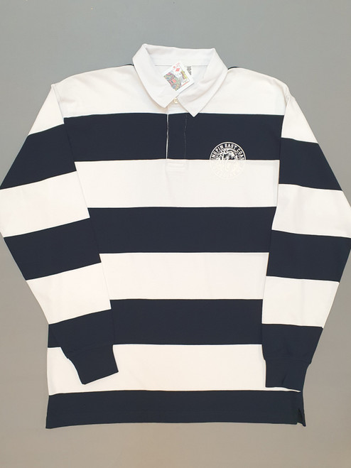 KINGPIN IRON LION RUGBY JERSEY NAVY / WHITE