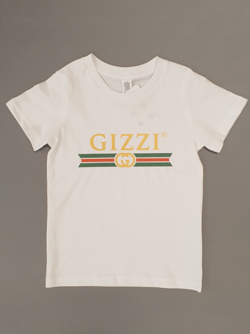 KINGPIN GIZZI TEE WHITE / GOLD / RED / GREEN