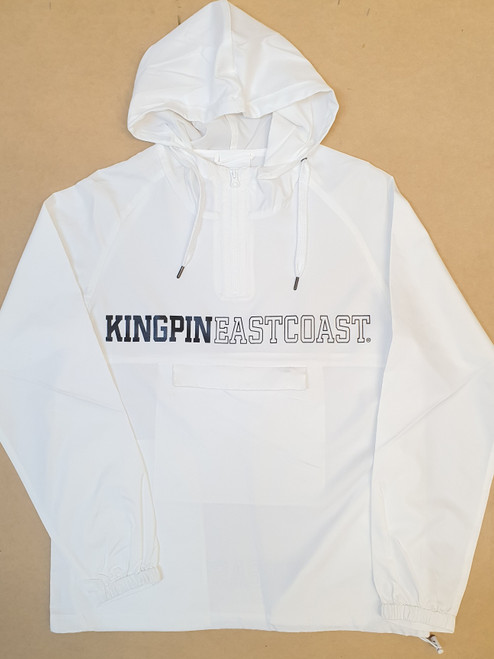 KINGPIN KPEC WINDBREAKER JACKET WHITE / BLACK