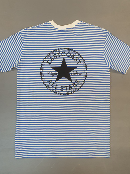 KINGPIN EASTCOAST ALL STARS STRIPE TEE BLUE / WHITE / BLACK