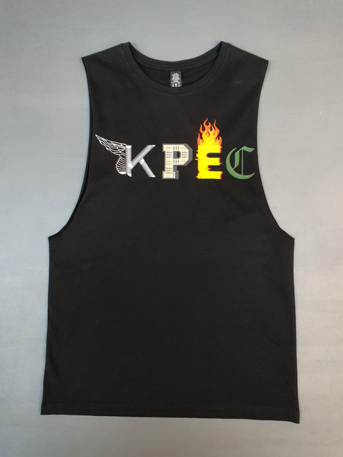 KINGPIN KPEC SINGLET BLACK / MULTI