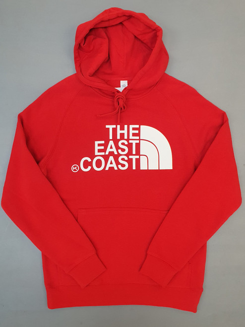 KINGPIN THE EAST COAST HOOD RED / WHITE