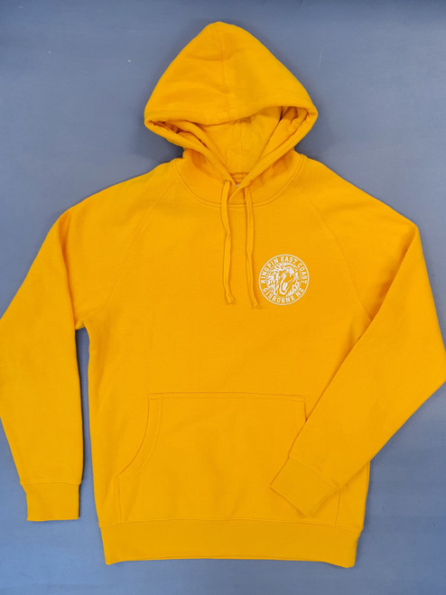 KINGPIN IRON LION HOOD YELLOW / WHITE / YELLOW