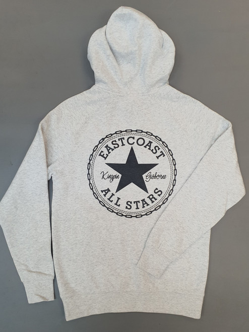 KINGPIN EASTCOAST ALL STARS HOOD WHITE MARLE / WHITE / BLACK