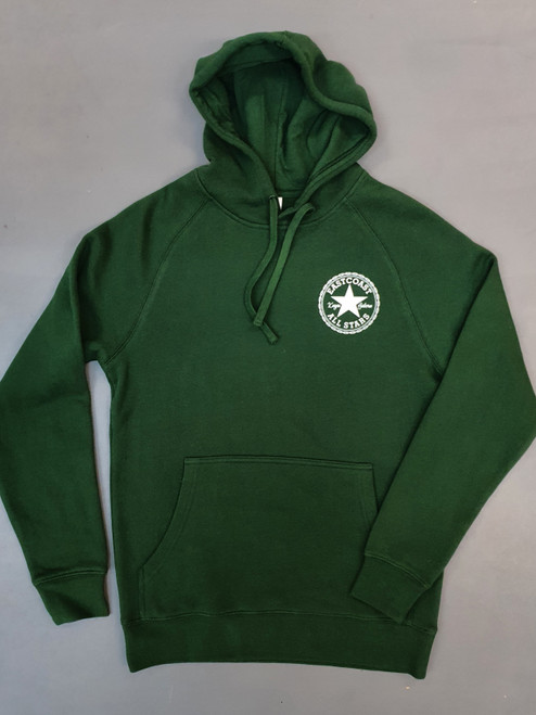 KINGPIN EASTCOAST ALL STARS HOOD FOREST GREEN / WHITE