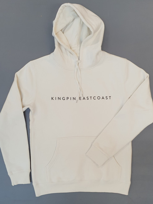 KINGPIN EASTCOAST HOOD CREAM / BLACK