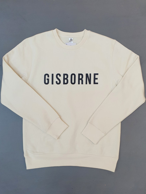 KINGPIN GISBORNE CREW CREAM / CHARCOAL