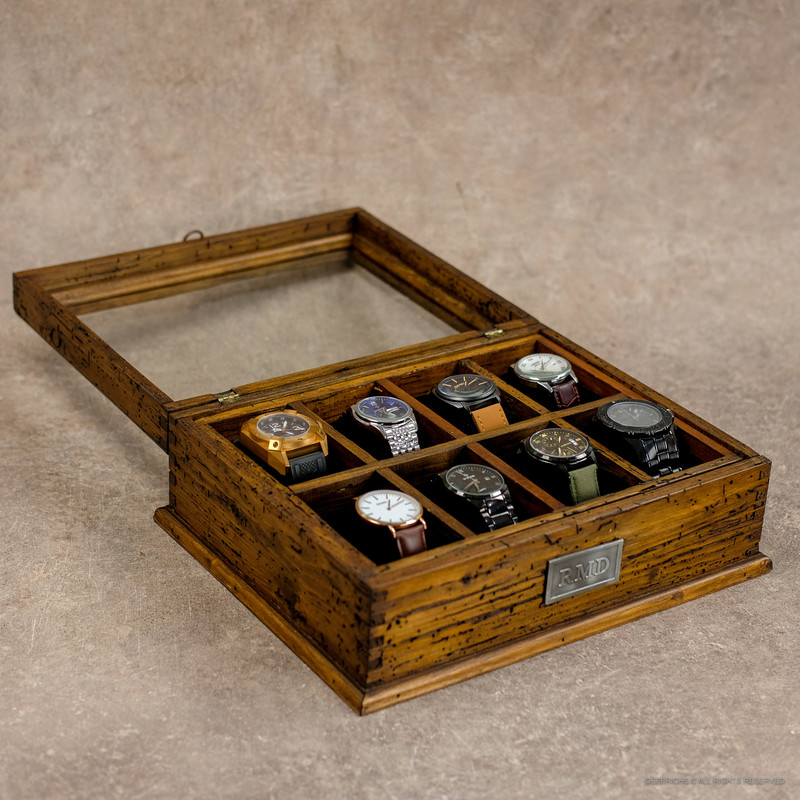 Watch Box No.8 with secret compartment