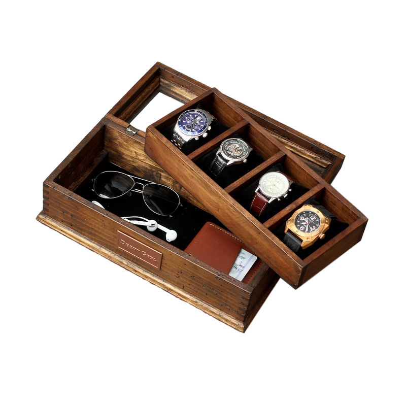 Watch Box with secret compartment No.4