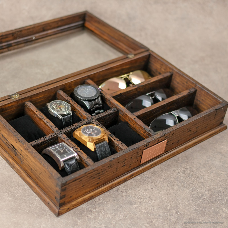 Watch Box and Sunglasses. No. 6-3