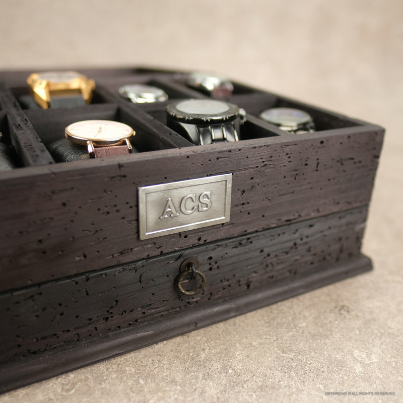 Watch Box N.8 - All Black Edition