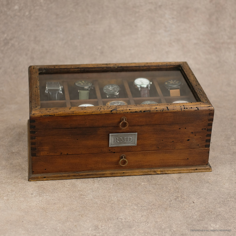 Watch Box with drawer  No.10