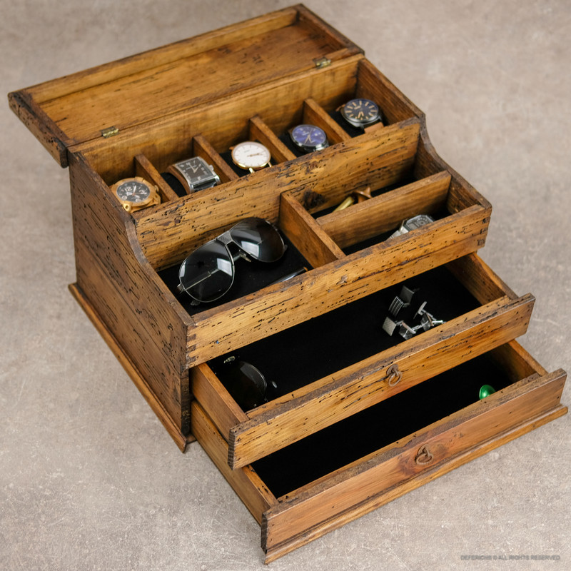 Valet Box with Double Drawer N.5
