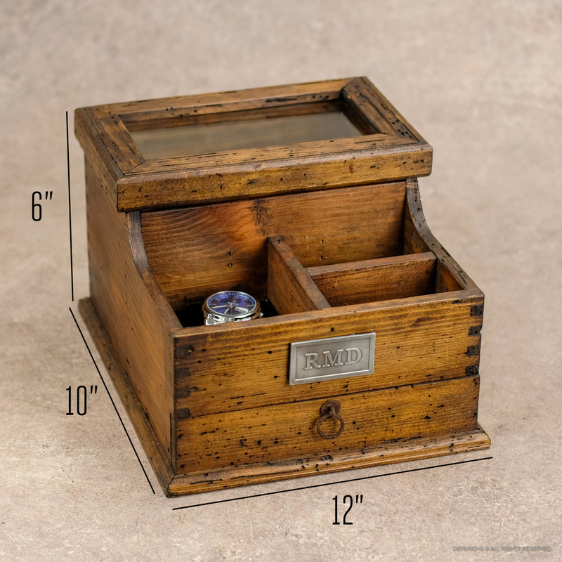Valet with Drawer N.3