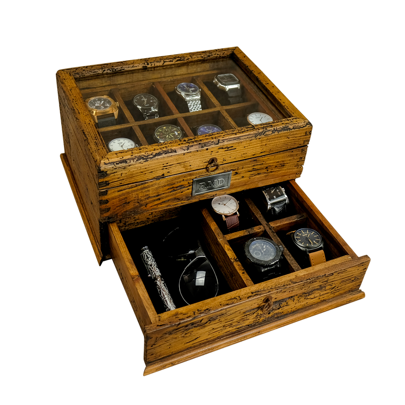 Watch Box with drawer No.12