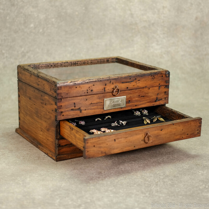 Jewelry Box  with double drawer