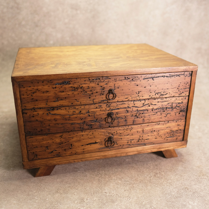 Drawer Chest With 3 Drawers