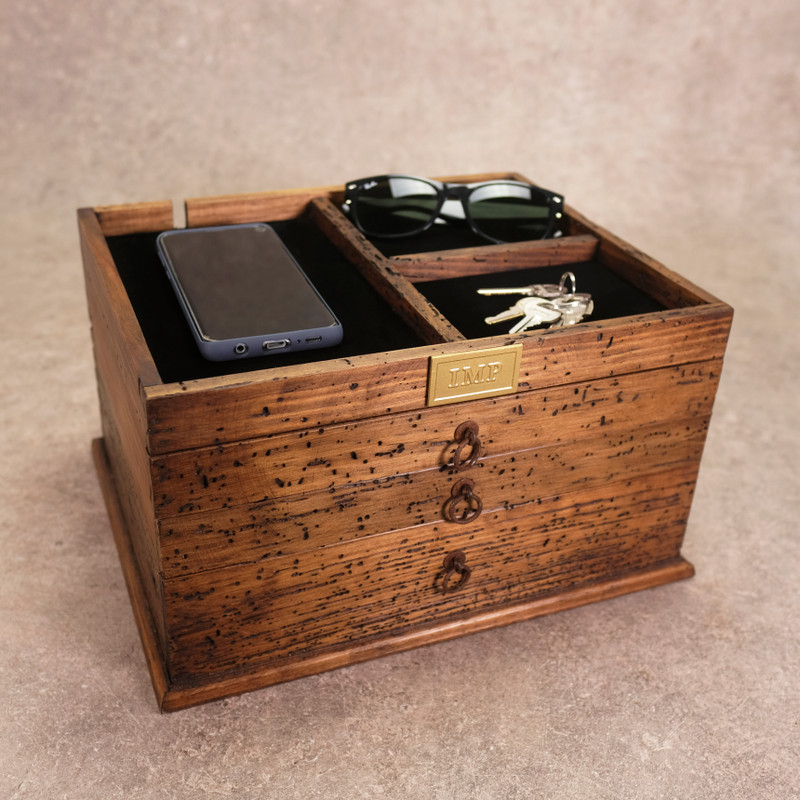 Jewelry Box with 3 Drawers
