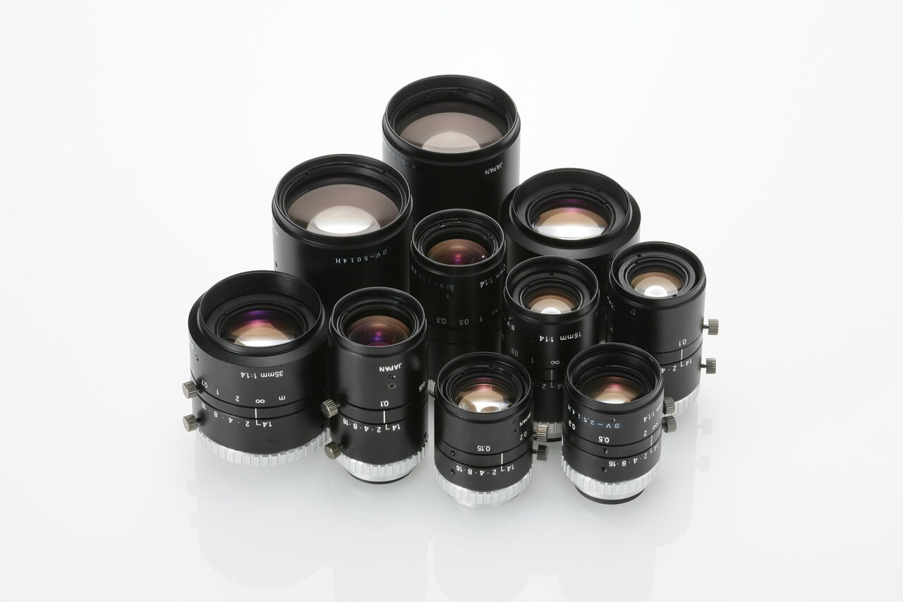 VS Technology SV-H Series - SV-0814H 8mm C-mount Lens