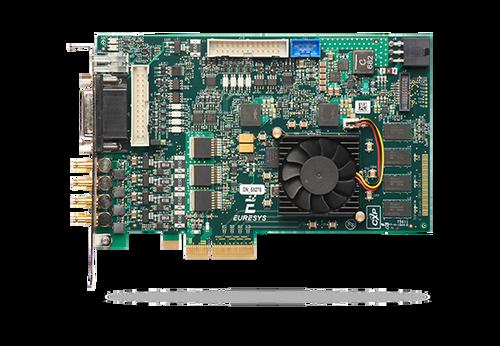 Euresys Coaxlink Quad G3 (1633): CoaXPress Quad Input CXP-6 Frame Grabber