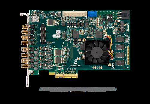 Euresys Coaxlink Quad G3 DF (1635): CoaXPress Quad Input CXP-6 Frame Grabber