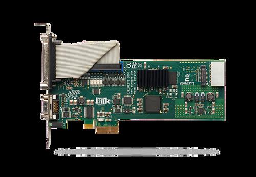 Grablink Base (1624): Camera Link Base PCIe x1 low profile frame grabber