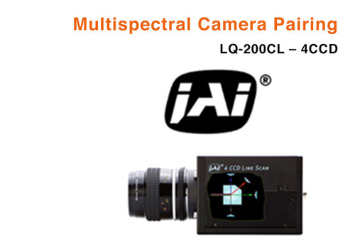 Metaphase Technologies Multispectral Illumination Line Light with JAI LQ200CL - 4CCD
